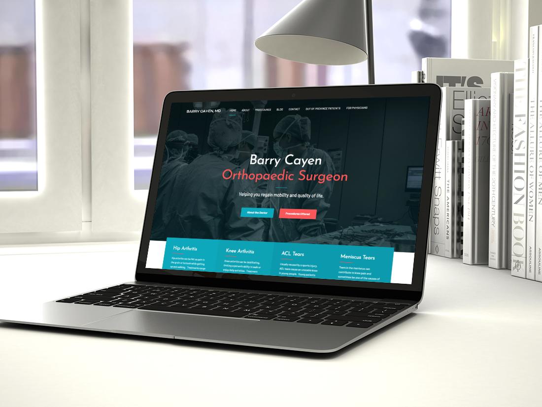 portfolio-website-cayen